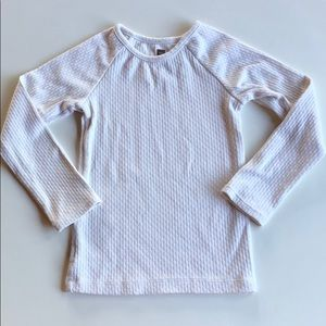 Tea Collection | Cream Thermal Long Sleeve | 4